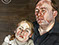 "Lucian Freud ""A Man and his Daughter"" 1963-1964 Oil on Canvas 61cmx61cm"