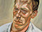 "Lucian Freud ""A Painter - Red Haired Man ll"" 1962 Oil on Canvas 91.5cm x 71cm"