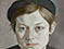 "Lucian Freud ""Girl with Beret"" 1951-52 36cmx26cm"