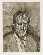 Lucian Freud Etchings 1990's