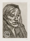 Lucian Freud Etchings 1985-1989