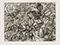 "Lucian Freud ""Landscape"" 1993 Etching (ed of 30) 15cmx19.7cm"