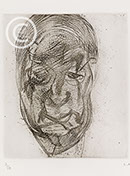 Lucian Freud Etchings 1980-1984