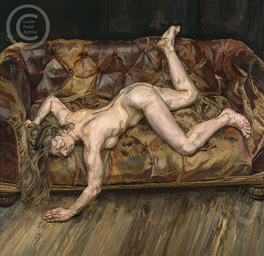 Lucian freud naked portrait are