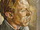 "Lucian Freud ""Red Haired Man"" 1960-1961 Oil on canvas  61cmx61cm"